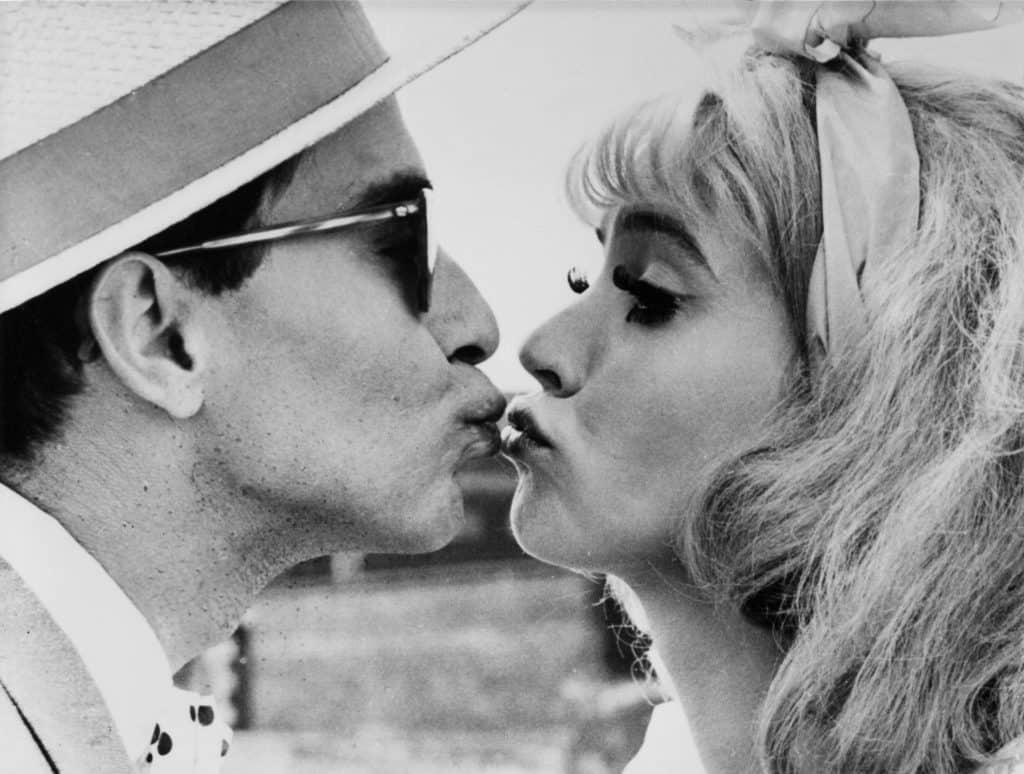 Jean-Luc Godard Anna Karina Cléo de 5 a 7 Agnès Varda