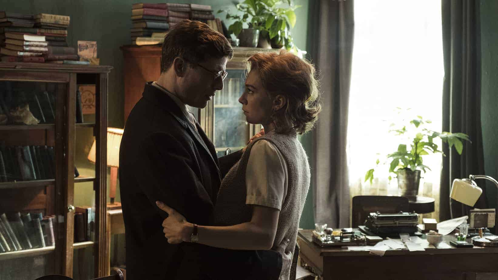 James Norton and Vanessa Kirby in Mr Jones by Agnieszka Holland.